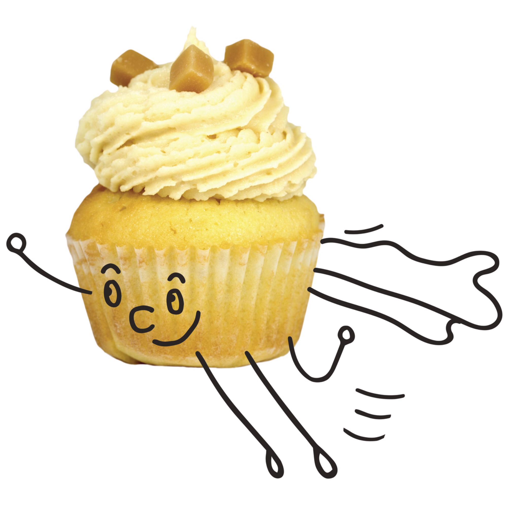 Bon pour 1 cupcake