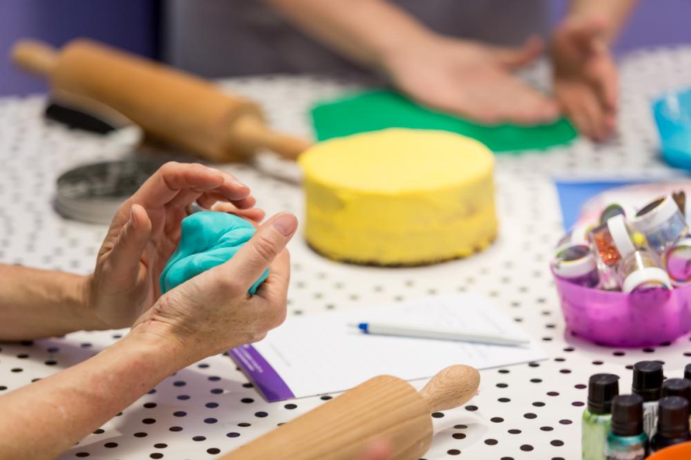 """Bon cadeau atelier """"adulte"""" - cake design"""