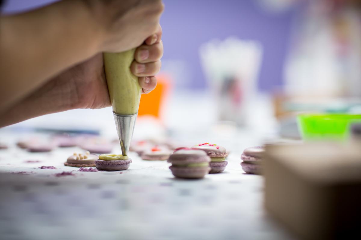 Atelier macarons